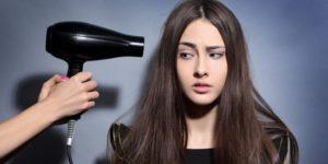 Hindari pemakaian hair dryer pada rambut