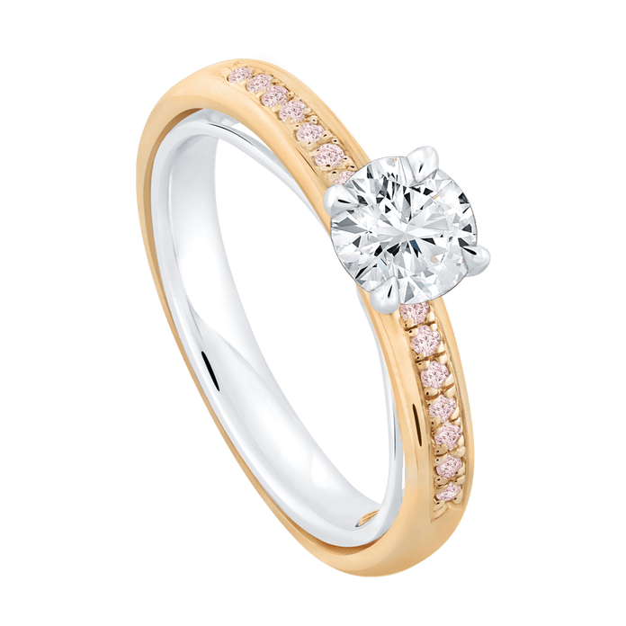 Cincin berlian wanita asli